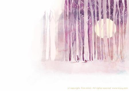 Kimmin ji– акварель видеальном исполнении. Изображение № 25.