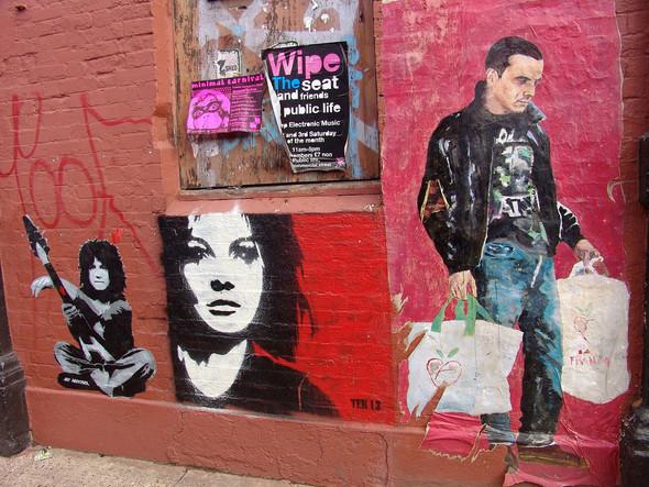 Стрит-арт в Лондоне. Изображение № 7.