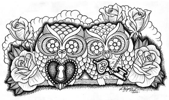 Kim-Anh Nguyen-Dinh : От рисунка к татуировке. Изображение № 15.