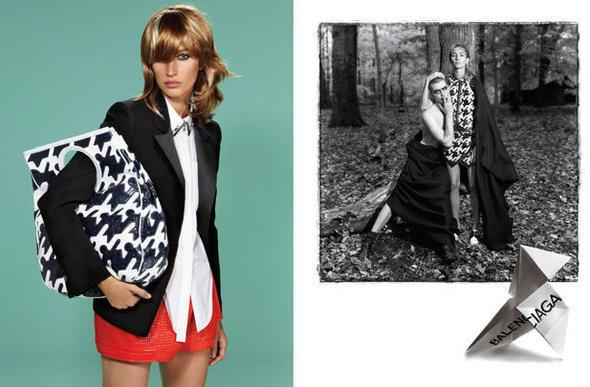 Изображение 4. Рекламные кампании: Lanvin, Prada, Balenciaga и другие.. Изображение № 31.