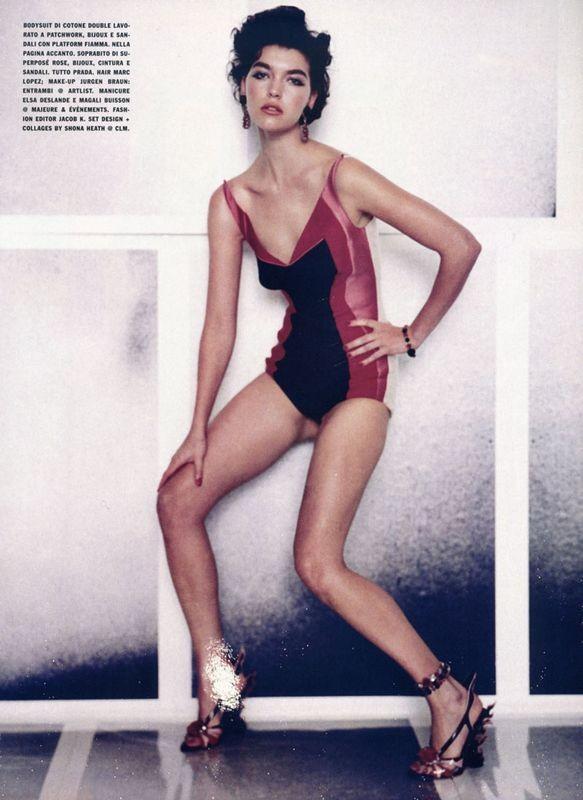 Съёмки: Стивен Майзел и Паоло Роверси для итальянского Vogue. Изображение № 26.