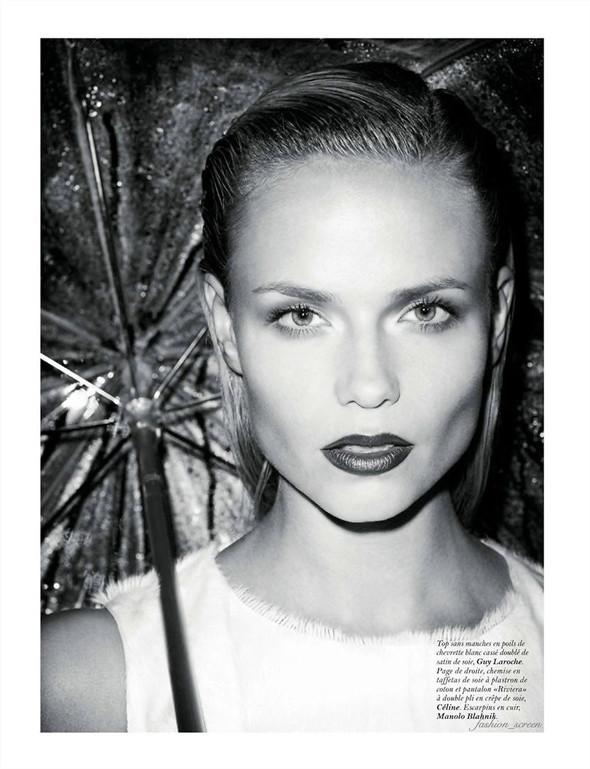 Съёмка: Наташа Поли и Терри Ричардсон для французского Vogue. Изображение № 4.