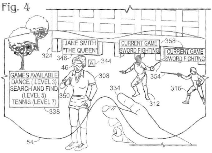 В Сети опубликован патент Microsoft на «умные» очки. Изображение № 1.