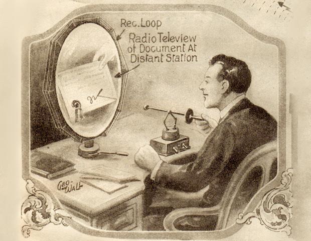 Как представляли Skype в 1925-м. Изображение № 2.