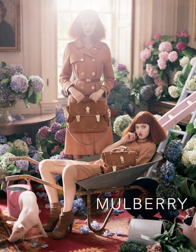 Изображение 7. Mulberry рекламная компания весна-лето 2011.. Изображение № 7.