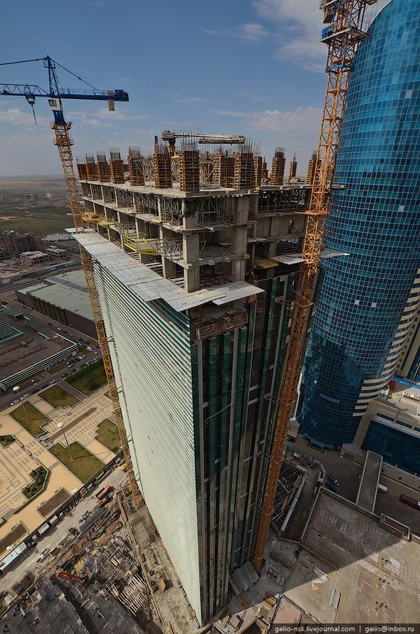 Изображение 8. Астана с высоты птичьего полета.. Изображение № 6.