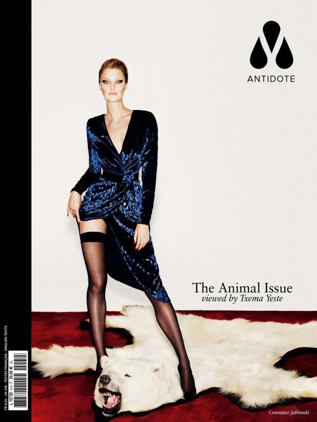Вышли новые обложки Vogue, Numero, Interview и других журналов. Изображение № 5.