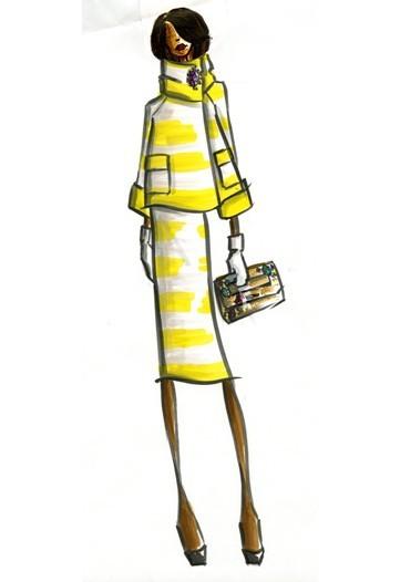 Дизайн одежды дляМишель Обамы. Изображение № 14.