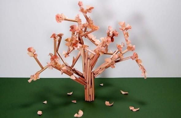 Дерево из карандашей. Изображение № 20.
