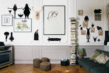 Виниловый мир от француского дизайнера Genevieve Gauckler. Изображение № 7.