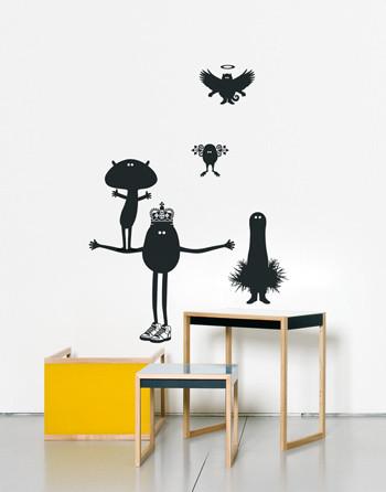 Виниловый мир от француского дизайнера Genevieve Gauckler. Изображение № 8.