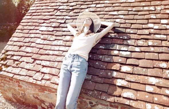 Лукбук: Руби Олдридж для MiH Jeans SS 2012. Изображение № 8.