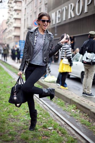Нерабочее время: Блоги об уличном стиле моделей. Изображение № 15.