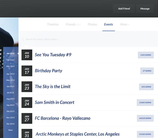 Редизайн дня: полностью новая веб-версия Facebook. Изображение № 26.