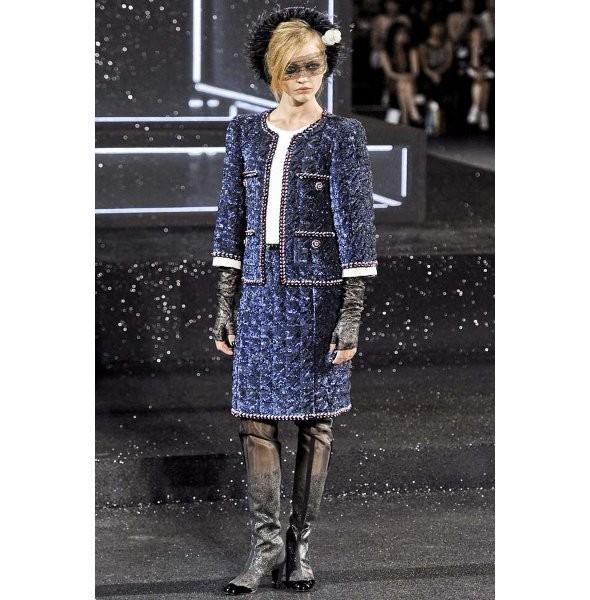 Изображение 5. Показ коллекции Chanel Haute Couture FW 2011.. Изображение № 5.