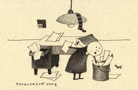 Филологические комиксы. Изображение № 9.