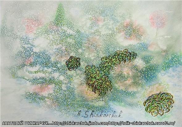 Shinkarchuk Anatoly watercolor and Japan Шинкарчук Анатолий акварель и Япония. Изображение № 17.
