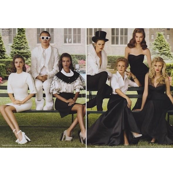 5 новых съемок: Purple Fashion, Vogue и W. Изображение № 23.