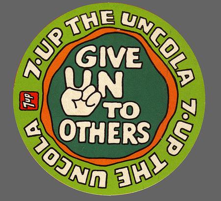 Графика 70-х thegreat hippie 7Up. Изображение № 7.