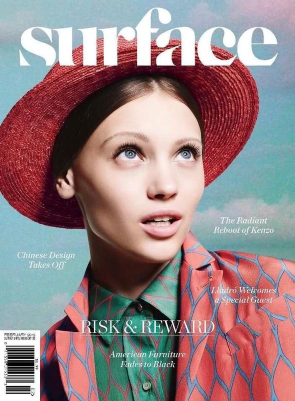 Обложки: Amica, Harper's Bazaar и Surface. Изображение № 3.