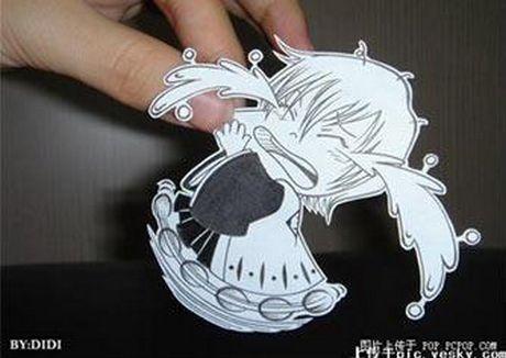 Фотоработы аниме избумаги. Изображение № 8.