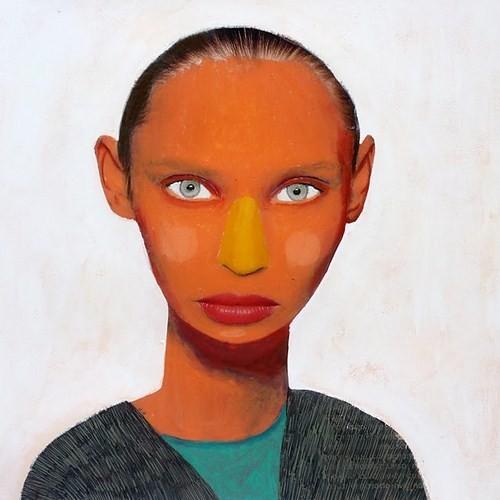 Абсурдные и привлекательные портреты Хуима Тио. Изображение № 11.