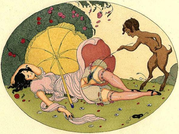Gerda Wegener, лесбийская эротика в миниатюре. Изображение № 12.