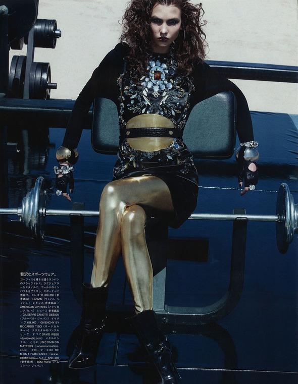 Съемки: Numero, Vogue, W и другие. Изображение №83.