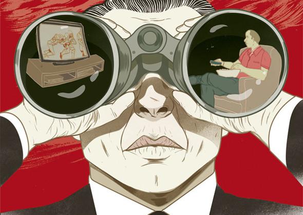Рисунки американского иллюстратора Марко Шина.. Изображение № 1.