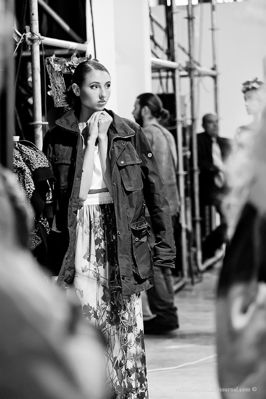 Backstage Ukrainian Fashion Week. Изображение № 21.