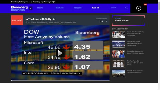 Bloomberg TV. Изображение № 4.