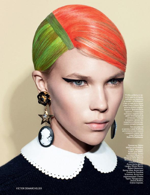 Съёмка: Виктор Демаршелье для российского Vogue. Изображение № 6.