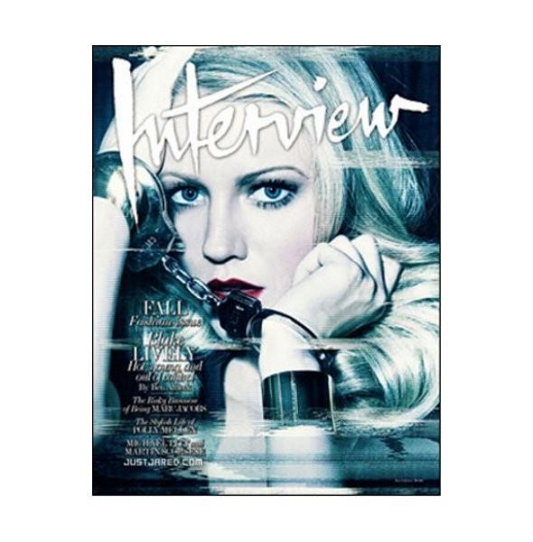 Новые обложки: Interview, 10, Harpers Bazaar и другие. Изображение № 1.