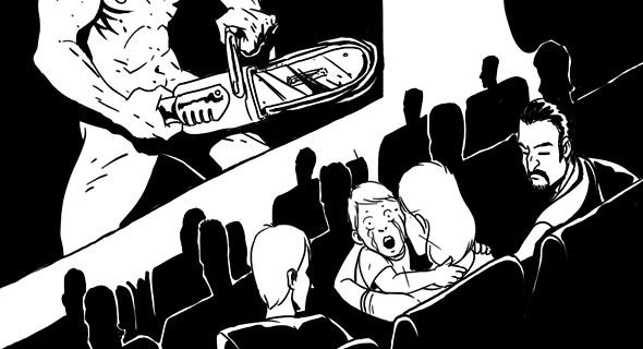 Изображение 2. Как вести себя в кино: Десять правил хорошего тона.. Изображение № 7.