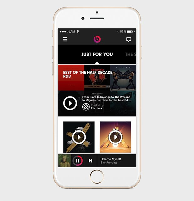 Я уверен, что будущее музыки за Beats, а не Spotify. Изображение № 2.