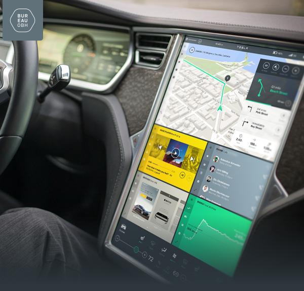 Концепт: интерфейс компьютера Tesla Model S. Изображение № 1.