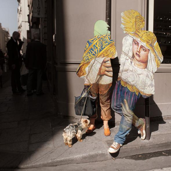 Фотографические эксперименты на улицах Парижа Начо Ормачеа. Изображение № 8.
