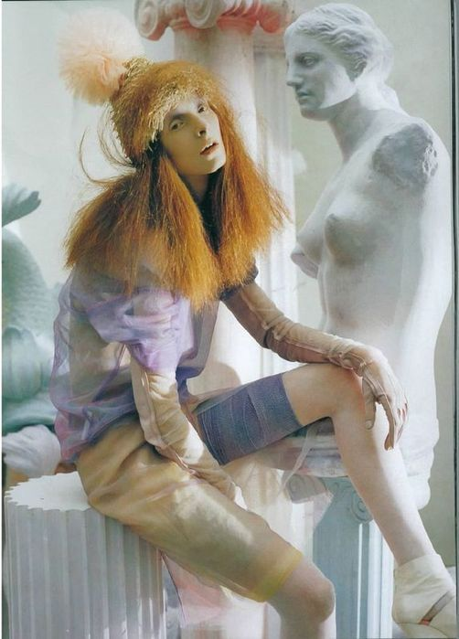 A Magic World (Vogue Italia January 2008 ). Изображение № 6.