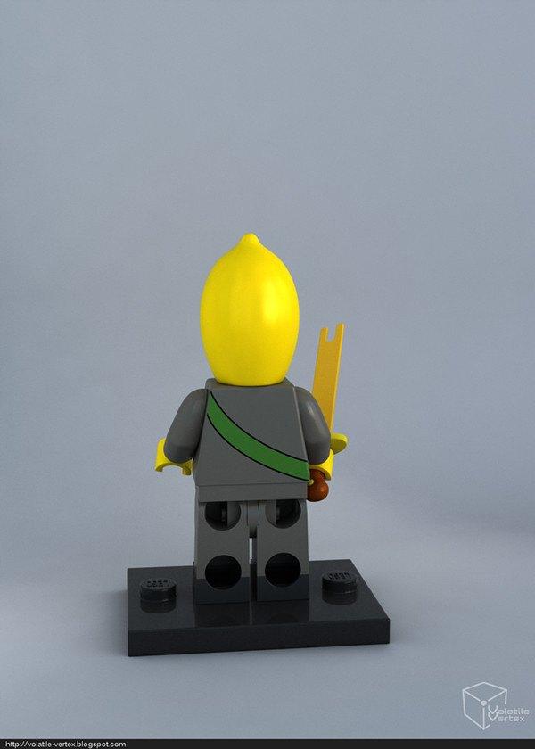 Концепт: персонажи Adventure Time в LEGO. Изображение № 7.