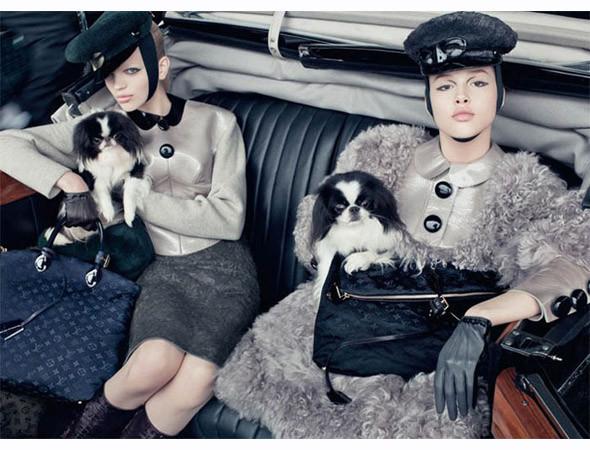 Рекламная кампания Louis Vuitton FW 2011. Изображение № 27.