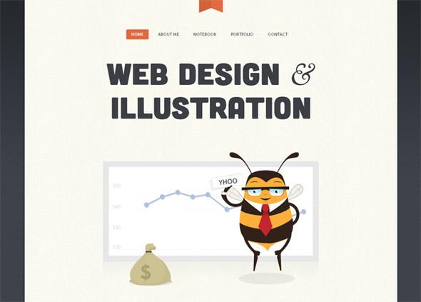 Персонажи в дизайне сайтов. Изображение № 55.