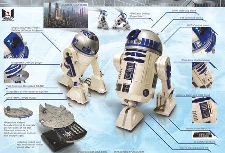 Проектор Nikko R2 D2. Изображение № 2.