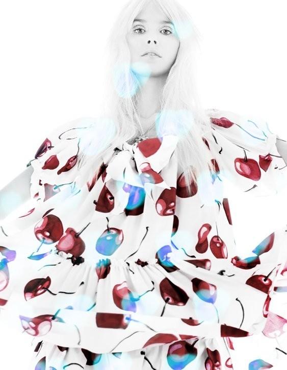5 новых съемок: Elle, Harper's Bazaar, Numero и Vogue. Изображение № 12.