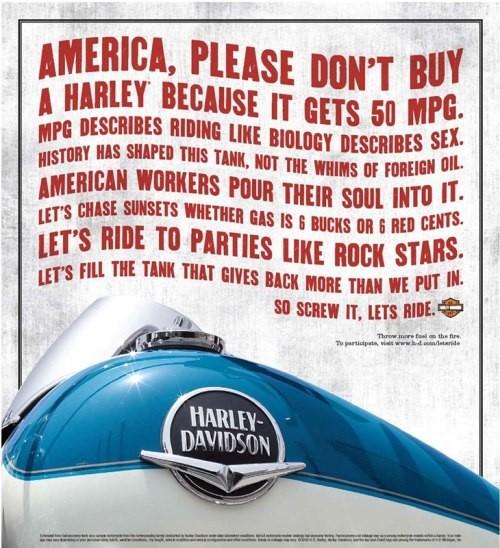 Harley Davidson: реклама легенды. Изображение № 3.