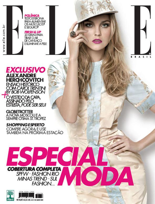 Изображение 4. Обложки: L'Officiel, Harper's Bazaar, Elle и другие.. Изображение № 4.