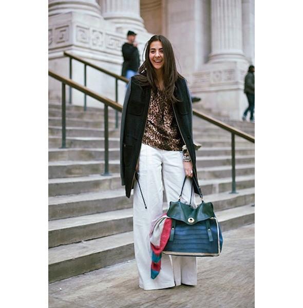 Изображение 153. На полях: 10 тенденций уличного стиля с прошедших недель моды.. Изображение № 153.