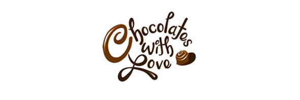 День шоколада. Вкусные шоколадные логотипы. Изображение № 24.