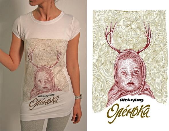 Дизайнерские футболки отT-store. Изображение № 10.