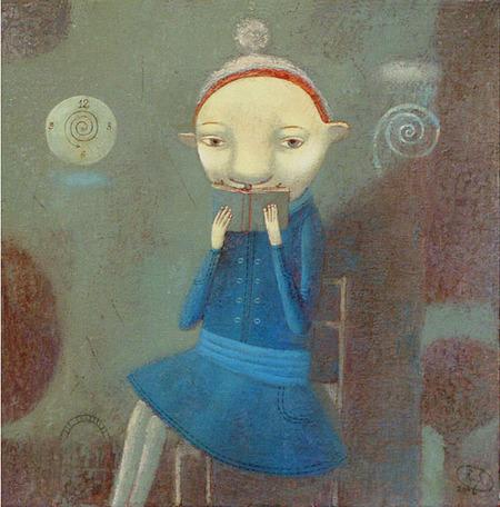 Наивная живопись Светланы Румак. Изображение № 2.