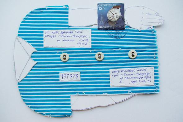 Mail art: почтовые радости своими руками. Изображение № 10.